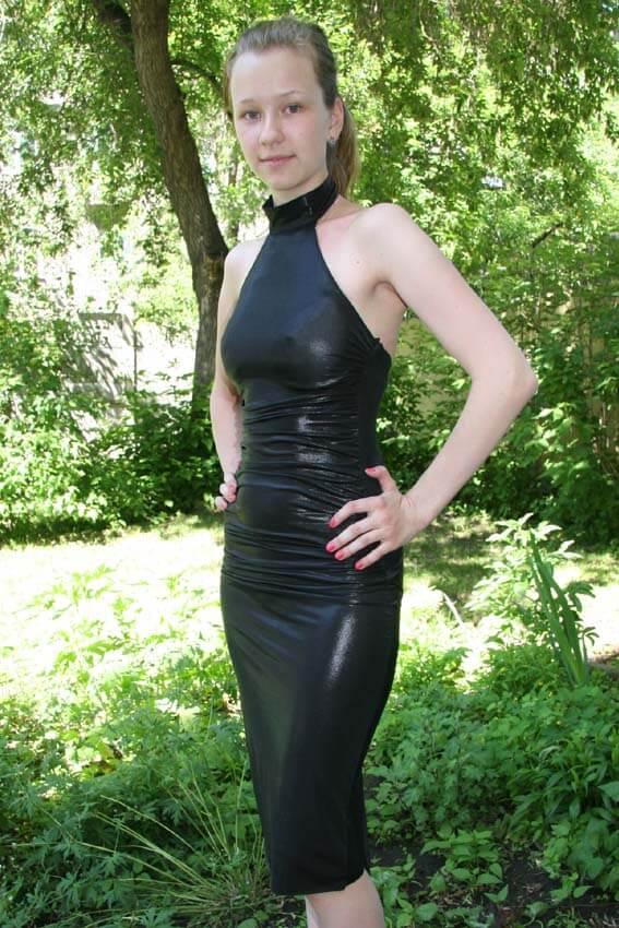 2589 Платье вечернее средней длины 3