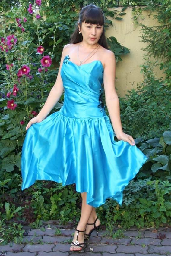 2589 Платье вечернее средней длины 5