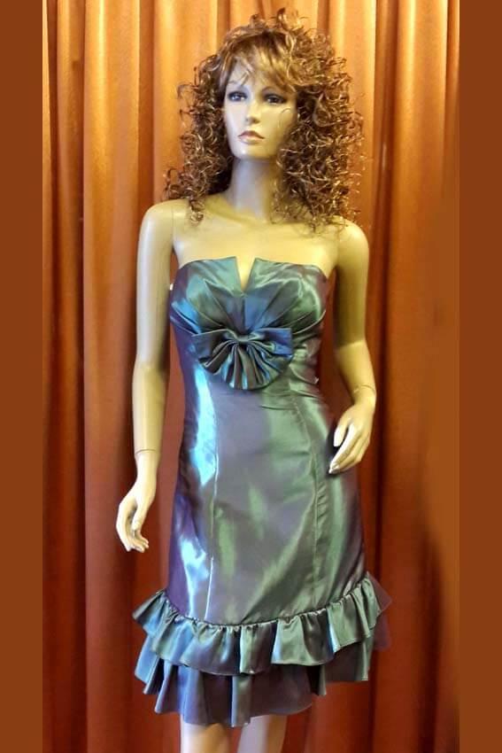 3556 Платье вечернее средней длины 1