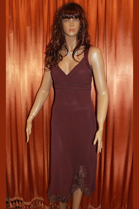3556 Платье вечернее средней длины 10