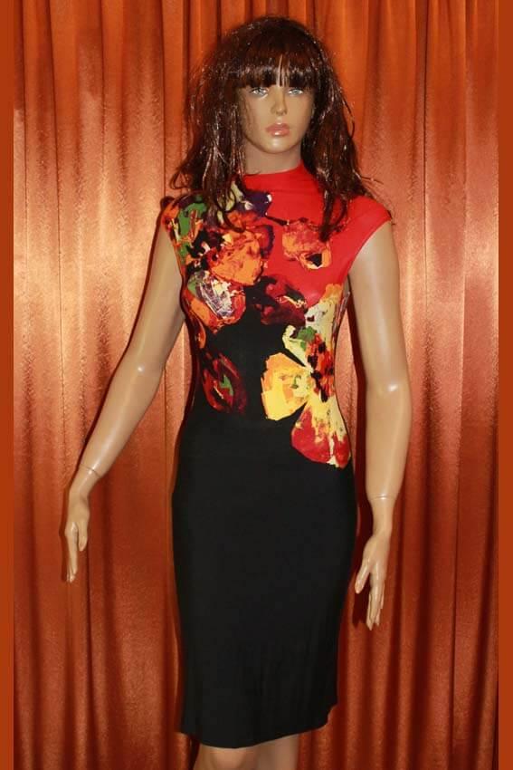 3556 Платье вечернее средней длины 12