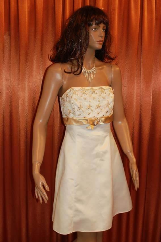 3556 Платье вечернее средней длины 13