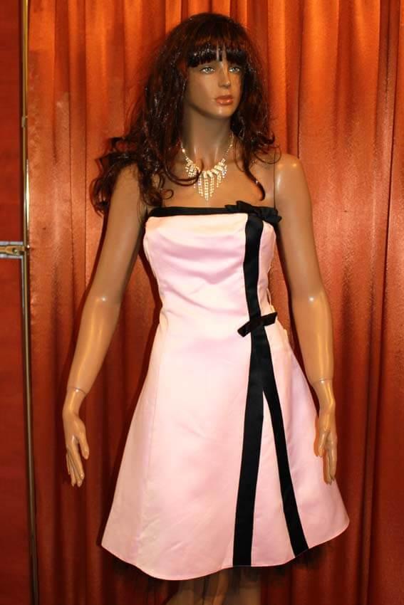 3556 Платье вечернее средней длины 14