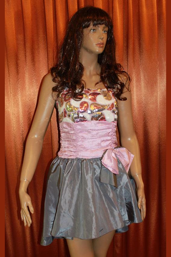 3556 Платье вечернее средней длины 16