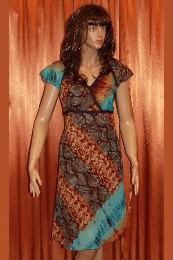 3556 Платье вечернее средней длины 19