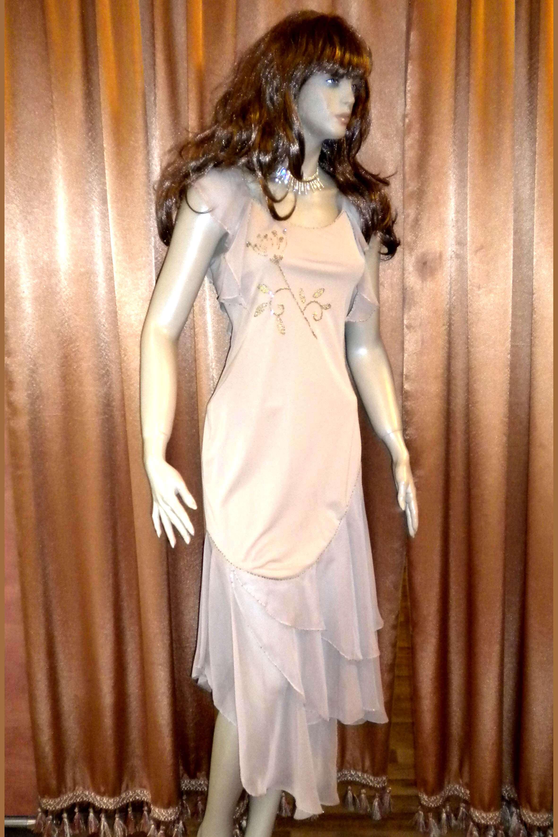 3556 Платье вечернее средней длины 30