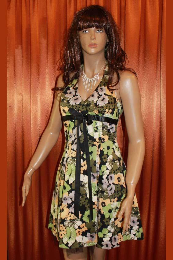 3556 Платье вечернее средней длины 38