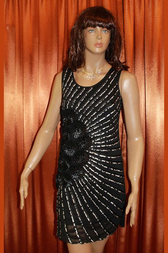 3556 Платье вечернее средней длины 4