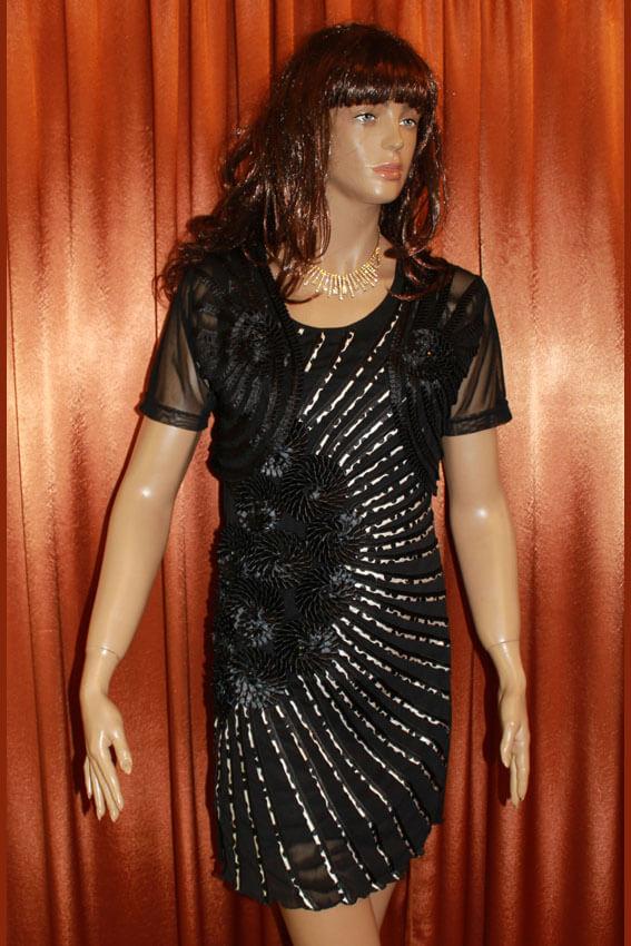 3556 Платье вечернее средней длины 5