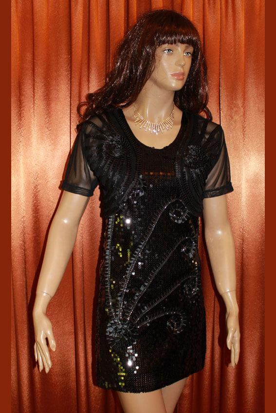 3556 Платье вечернее средней длины 6