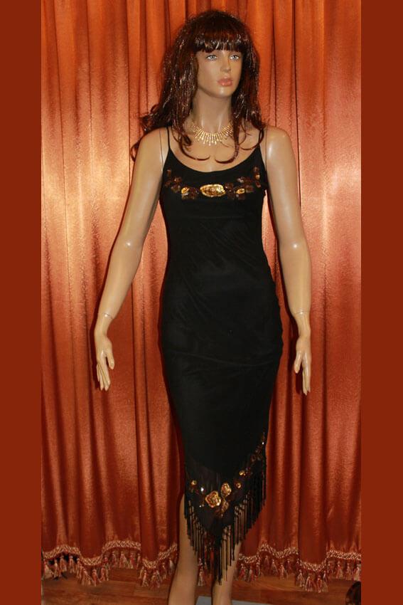 3556 Платье вечернее средней длины 8