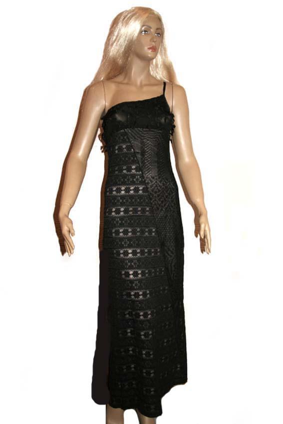 5675 Платье вечернее средней длины 1
