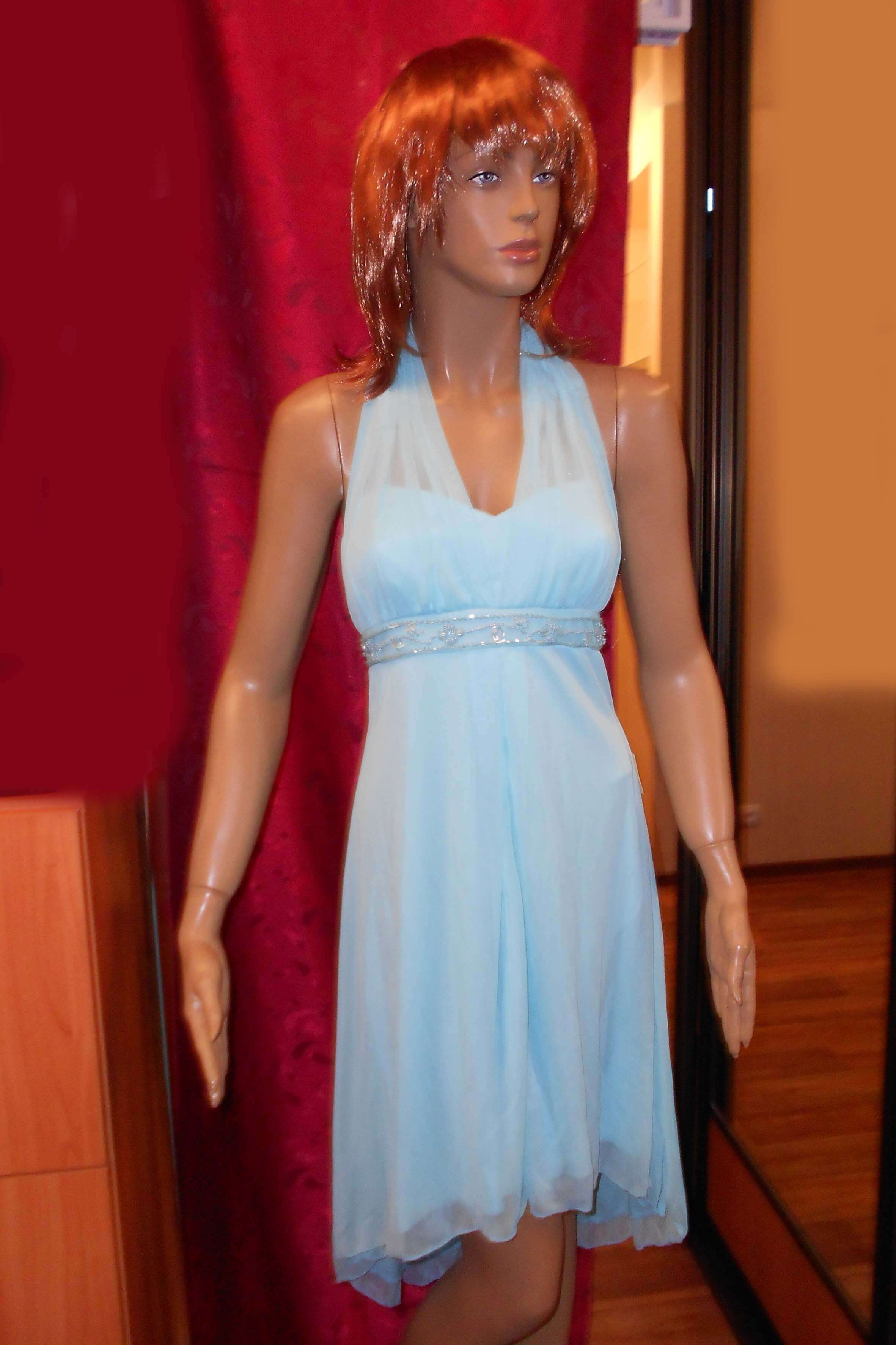 7458 Платье вечернее средней длины 2