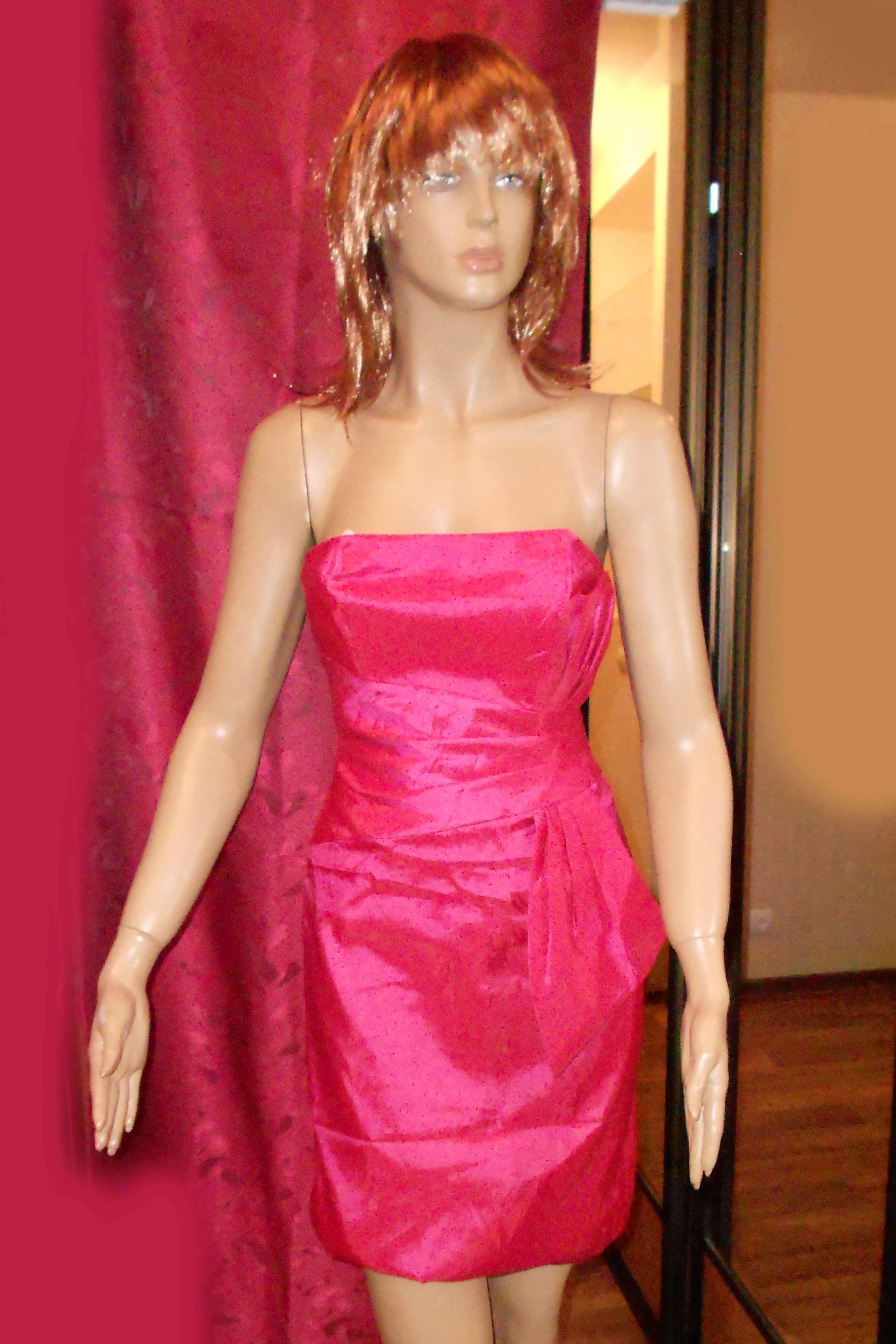 7458 Платье вечернее средней длины 6