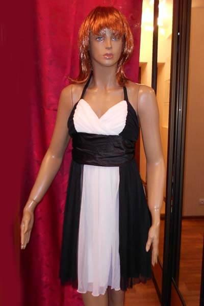 7458 Платье вечернее средней длины 8