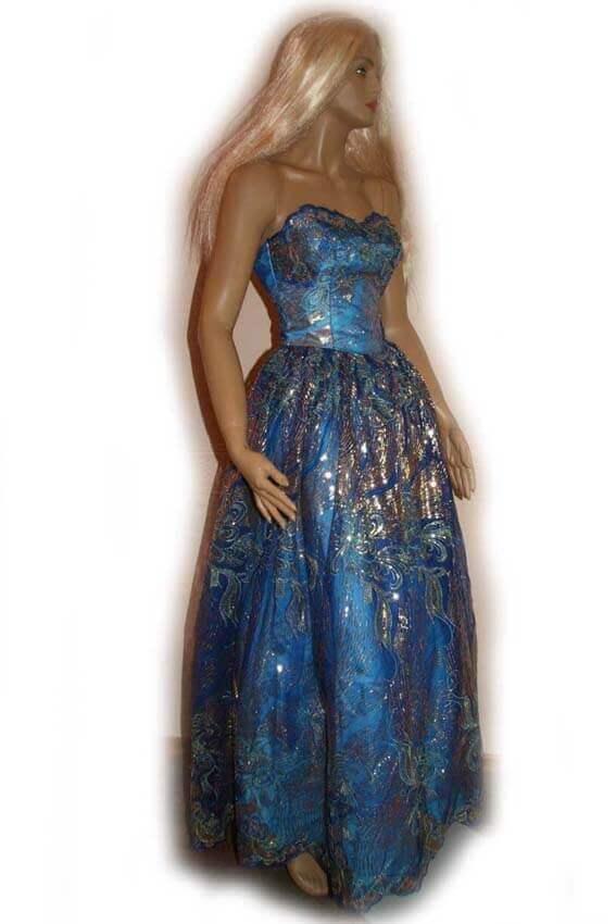 2860 Платье вечернее