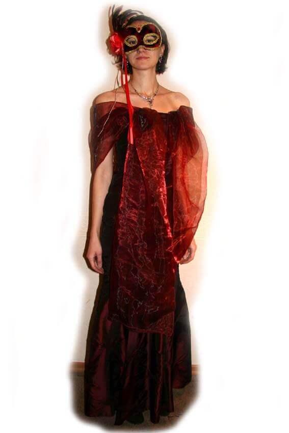 5333 Платье вечернее