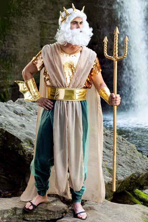 3694 Водяной Тритон Морской царь Нептун