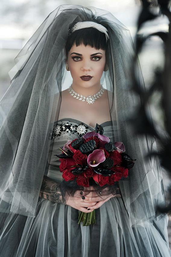 8595 Зомби невеста под заказ